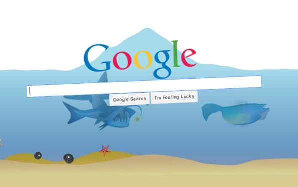 google gravity underwater