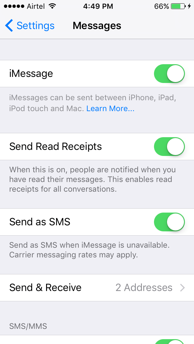 how to turn off caller id ios 9