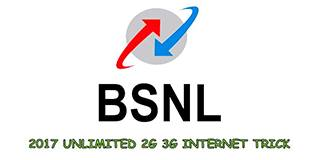 Working Bsnl Free 3G Internet Trick April 2017 – Unlimited Data Balance For Android Mobile