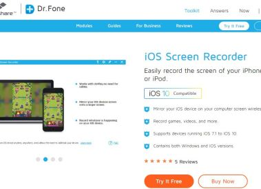Best iOS Screen Recorder Application to Record iPhone Screen Easily