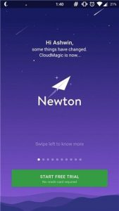 newton-mail-app-for android