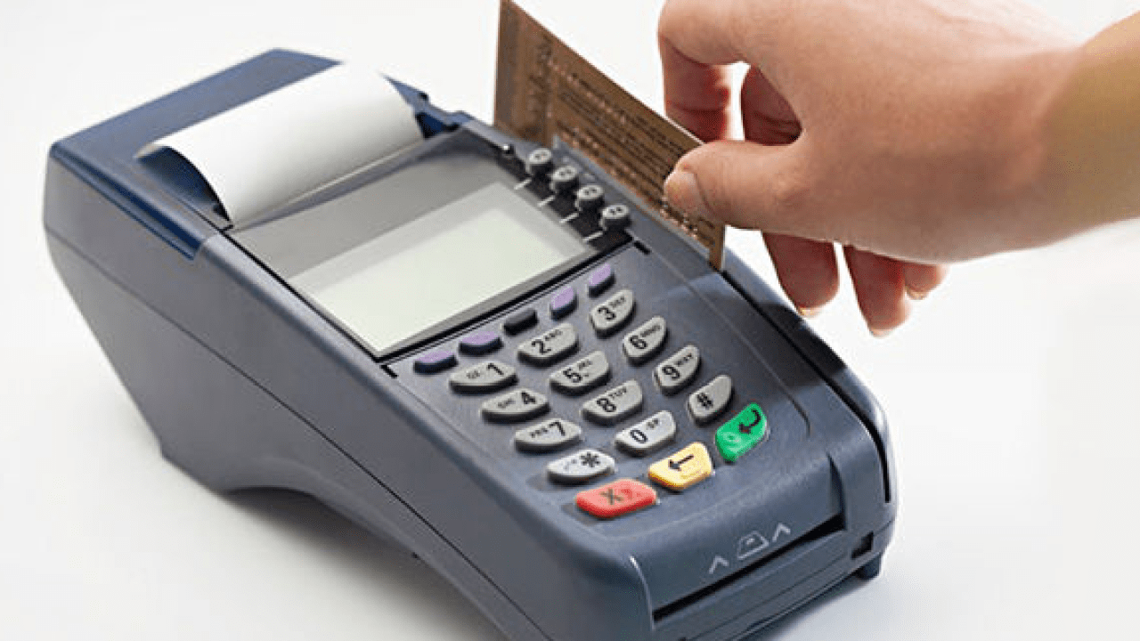 best card swiping machine pos india to accept payment from