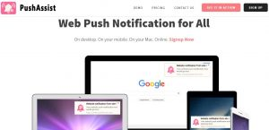pushassist push notification