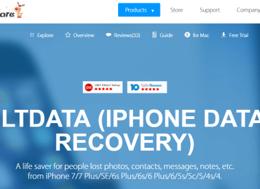 Best iPhone Data Recovery Tool-Tenorshare UltData Review