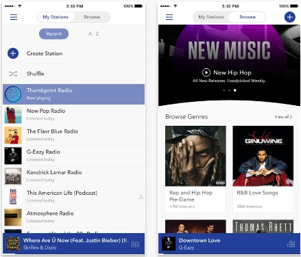 How Much Data Does Music Streaming Apps like Pandora, iTunes