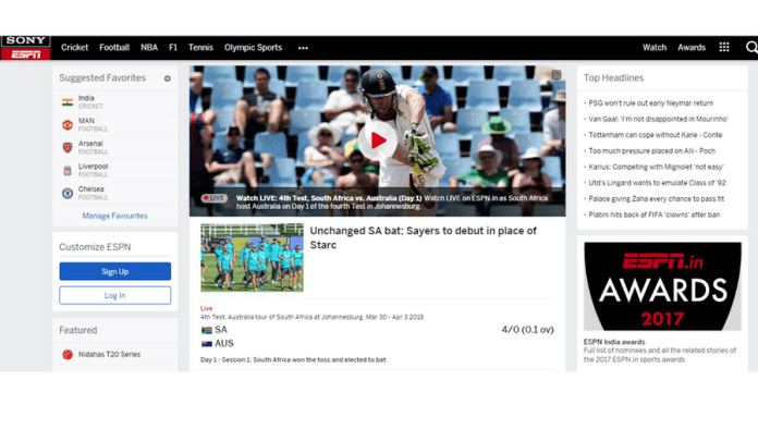 10+ Best Sports Streaming Sites September 2019 - Watch Sport