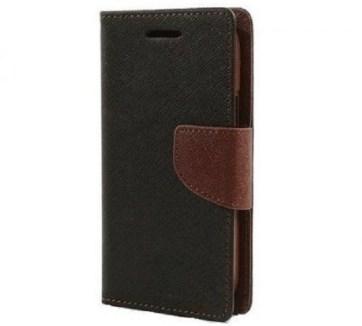 AEON CASE Flip Cover for ONEPLUS 5 (Black)