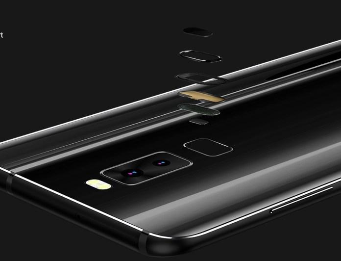 Leagoo S8 fingerprint