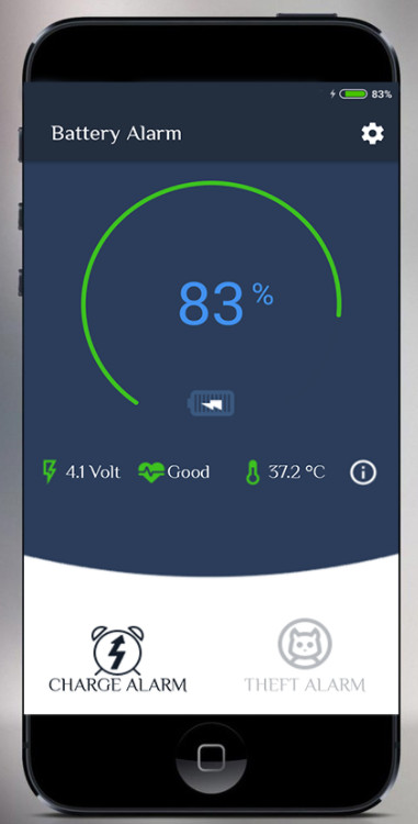 Battery Alarm and Status