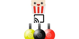 Popcorn Time on Chromecast