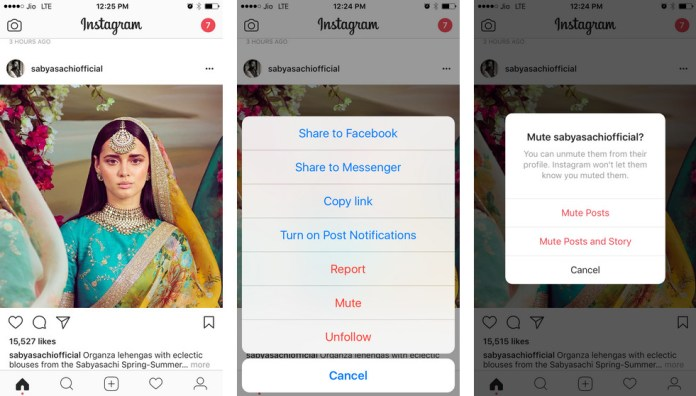 Instagram Mute Feature Rolling out
