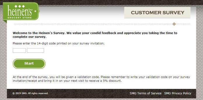 heinen's survey