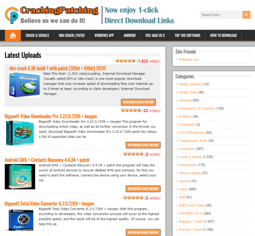free software download crackingpatching