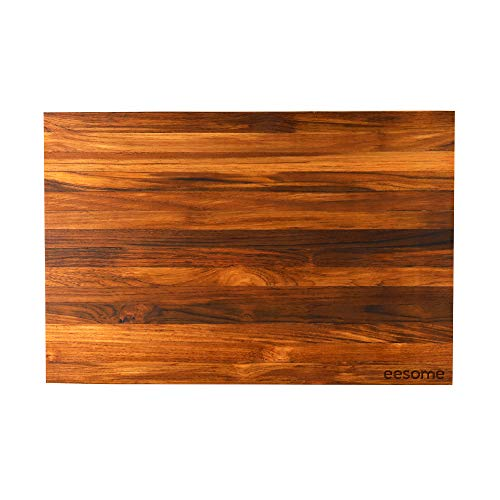 Eesome Teak Wood Cutting Board/Premium Chopping Board with Reversible Usage (12 * 18 * 1.25 INCHES)