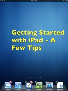 iPad Tips