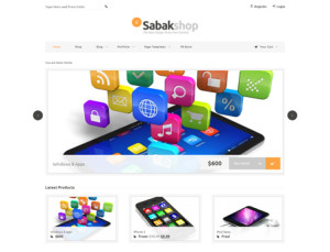 Sabak WooCommerce Theme