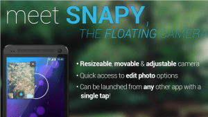 Snapy The Floating Camera
