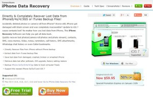 Tenorshare iPhone Data Recovery