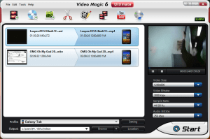 Blaze Video Magic Format