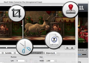 MacX Video Converter Pro Converter Feature