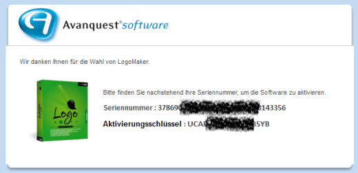 LogoMaker Serial Number