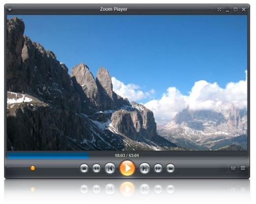 Zoom Player Pro Screen