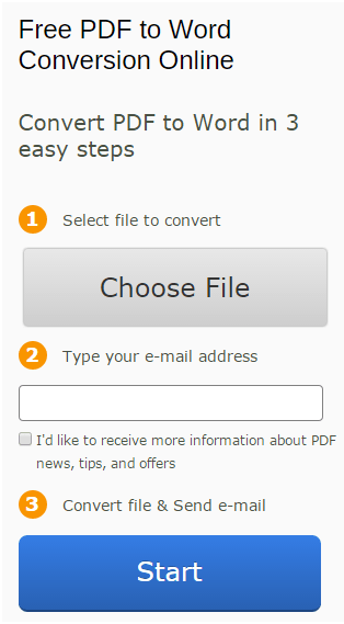 Free PDF to Word Converter Online