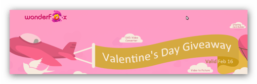 WonderFox Valentine's Day Giveaway
