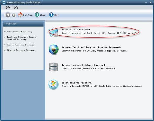 Password Recovery Bundle Standard