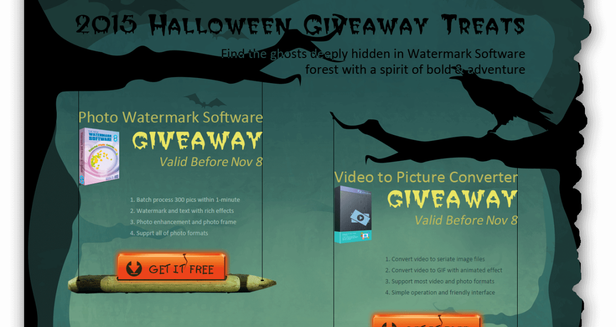 Watermark Software giveaway
