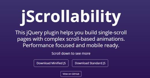 jScrollability jQuery Plugin