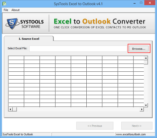 Convert Excel Spreadsheet to Outlook Contacts