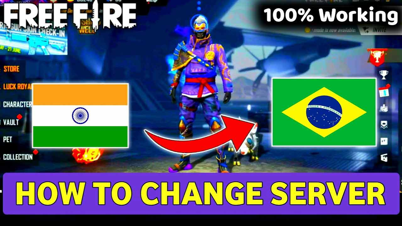How To Change Server in Free Fire