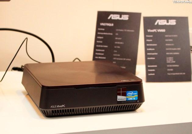 CeBIT 2014: мини-компьютер VivoPC VM60 и фоторепортаж со стенда ASUS