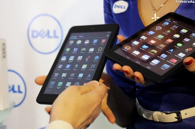 Android-планшеты Dell Venue 7 и Venue 8 на платформе Intel официально в Украине