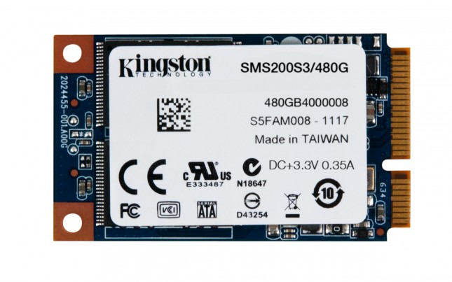 Накопители Kingston SSDNow mS200 (mSATA)