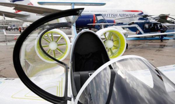 Первый в мире серийный электросамолет Airbus E-Fan