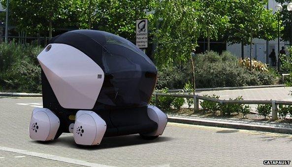 На дорогах Великобритании появятся самоуправляемые авто