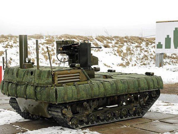 В России проведут масштабные испытания боевых роботов