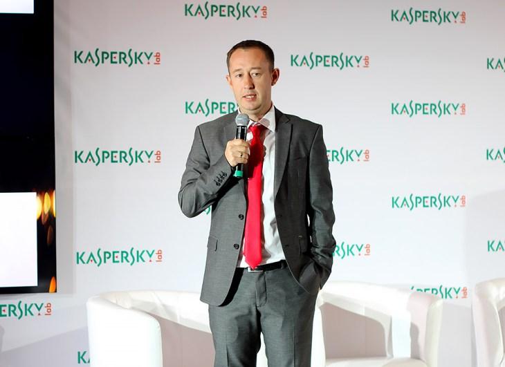 Александр Савушкин, управляющий директор Kaspersky Lab в регионе Северо-Восточной Европы