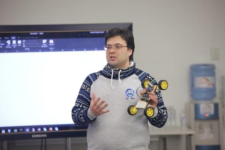 Дмитрий Миндра, представитель технического сообщества Майкрософт