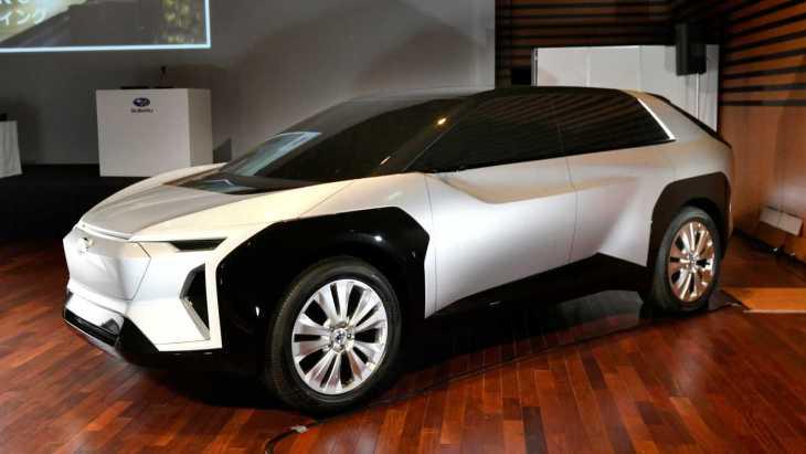 Subaru выпустит свой первый эдектрокар с габаритами Forester