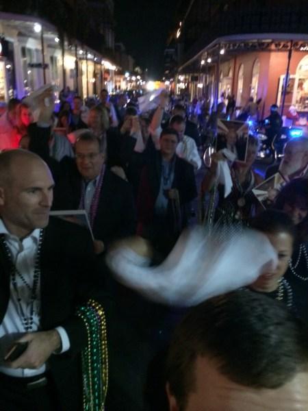 The 2nd line hits Bourbon Street (002)
