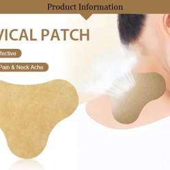 Cervical pain relief patch