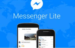 """تطبيق """" ماسنجر لايت """" من الفيس بوك"""