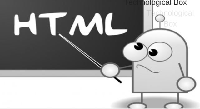 تعلم لغة ال html