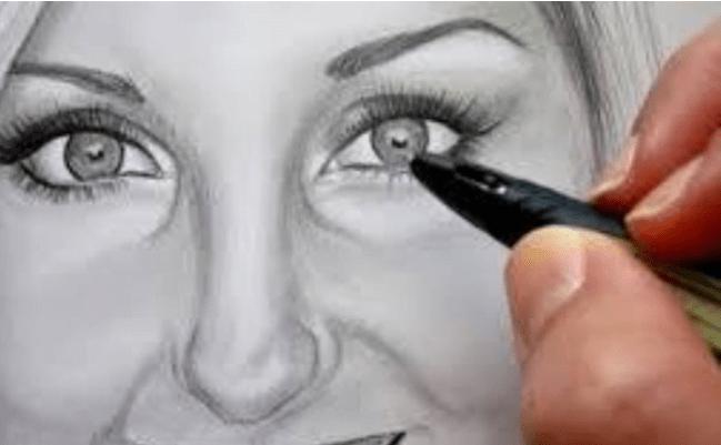 طريقة تعل م رسم الوجه بالقلم الرصاص للمبتدئين خطوات بسيطة Technological Boxes