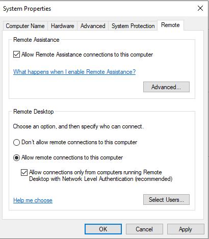 التحكم في الكمبيوتر عن بعد
