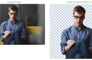 تطبيق تفريغ الخلفية من الصورة
