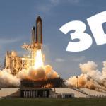 Fusée en 3D